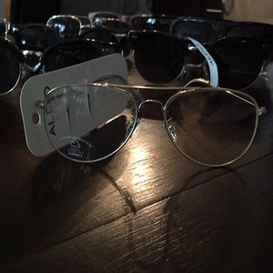 ALDO Gold Framed Aviator Fashion Glasses